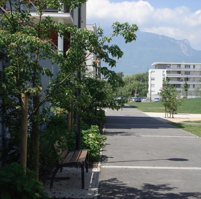 Landscape Design, Grenoble, France
