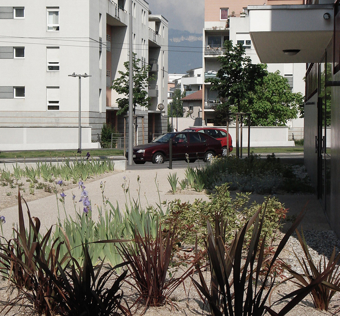 Landscape Design, Grenoble, France