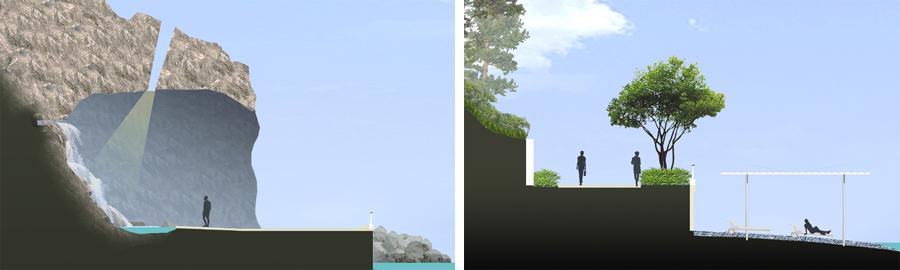 grotte et promenade