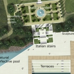 Landscape Design, Luxury Hotel, Yalta