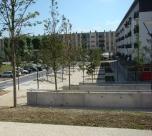 Landscape Design, Housing, Nogent sur Oise, France
