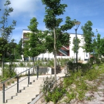 Landscape Design, Housing, Nogent sur Oise, France
