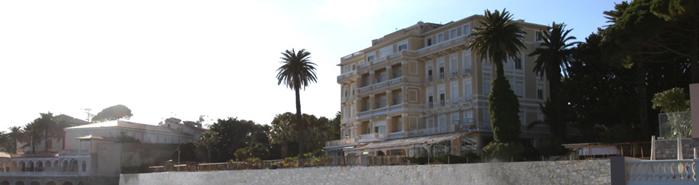 Hotel Metropole vue de la mer